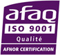 Usinage plastique AFAQ ISO 9001